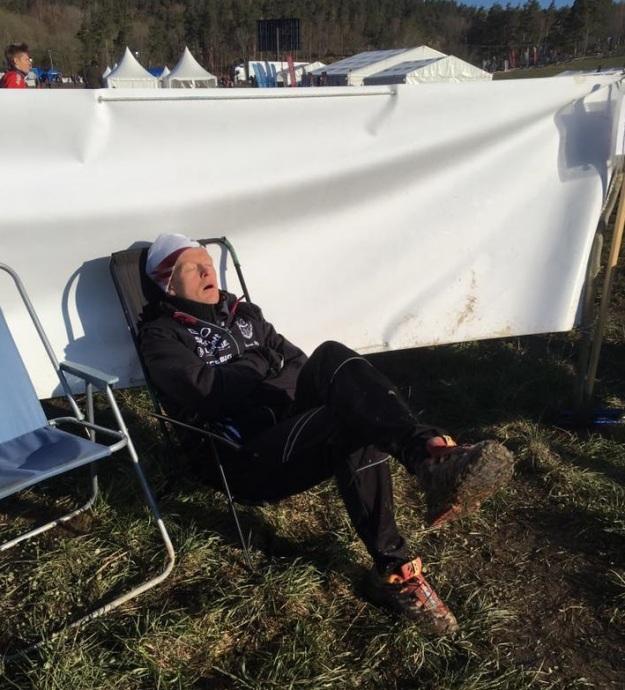 Sover på TC Kjetil Espedal